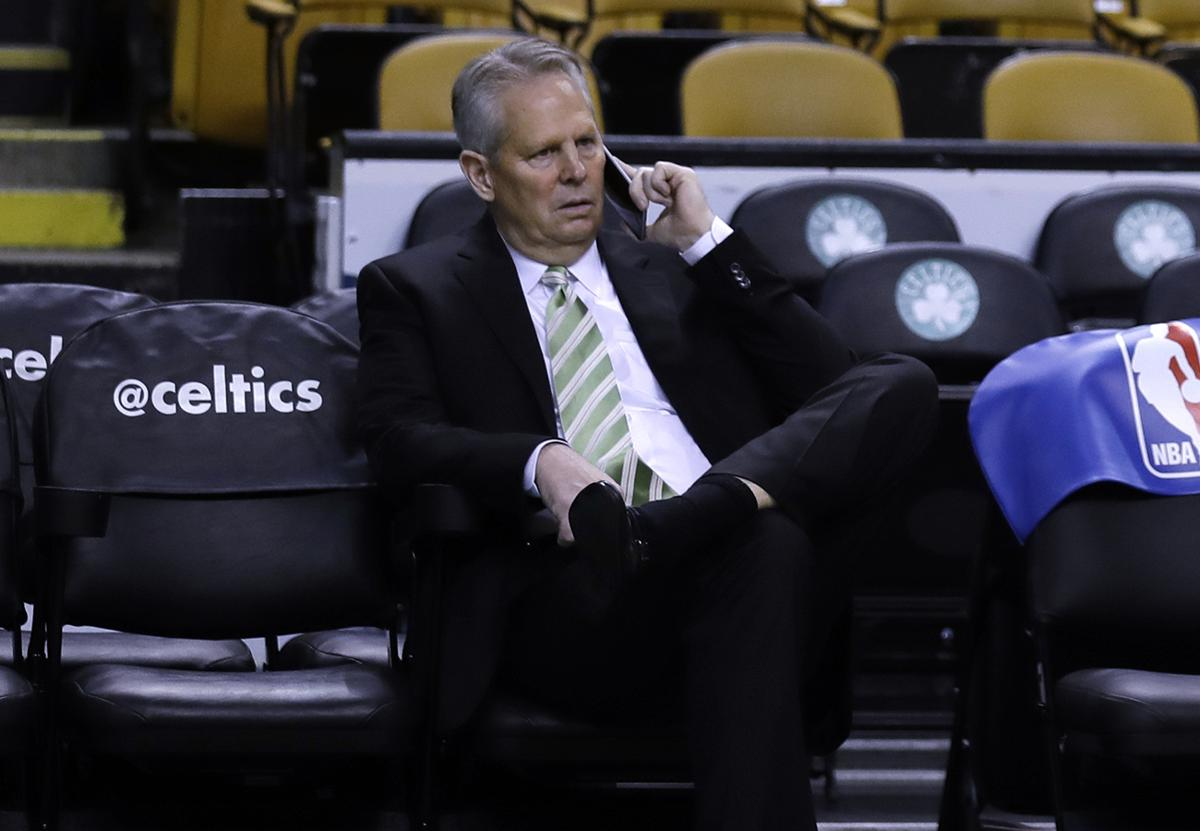 Danny Ainge is on a different campaign trail in Utah this time