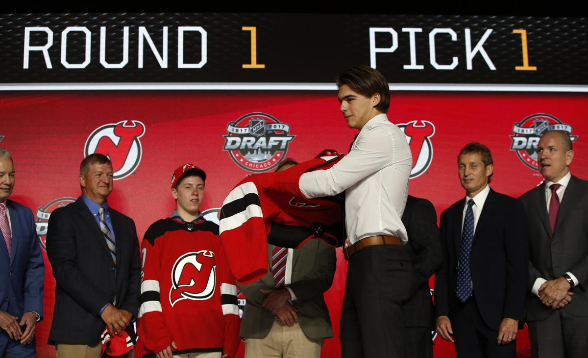 1 pick. Center Nico Hischier 3b2318c3c