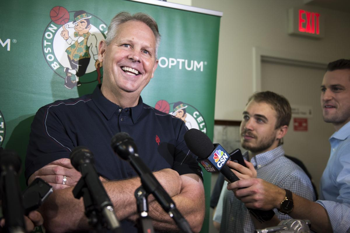 Danny Ainge s posterized — by his son