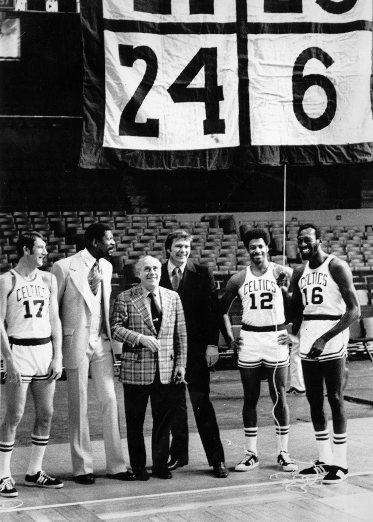 Why was Boston Garden nearly empty when Bill Russell s number was ... 2696d0685