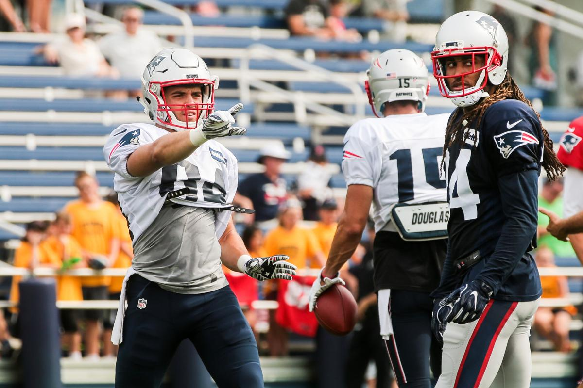 Austin Carr making a play for Patriots roster spot