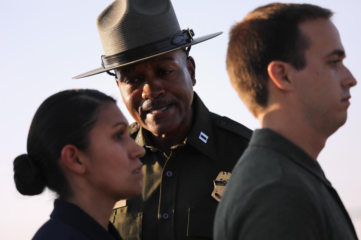 US border patrol agents in training - The Boston Globe