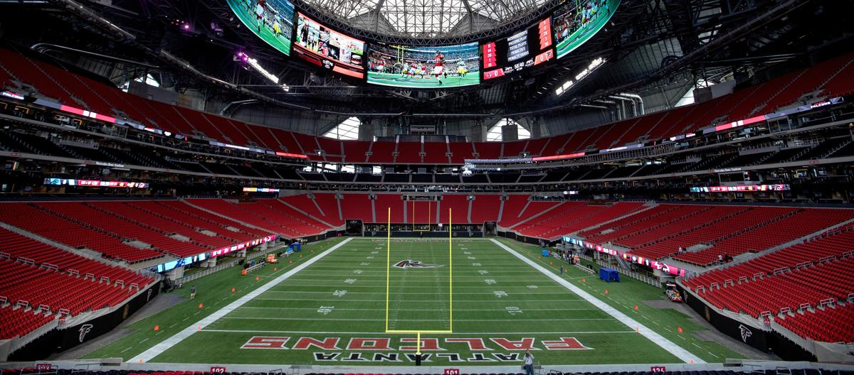 Falcons image collections wallpaper and free download for Falcons mercedes benz stadium
