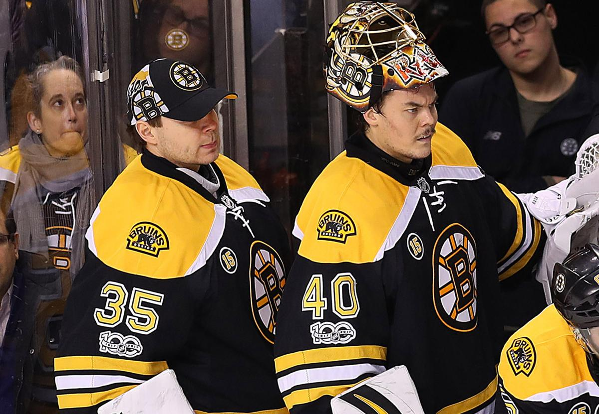 Boston 01 05 2017 Bruins Vs Oilers Goalie Tuukka