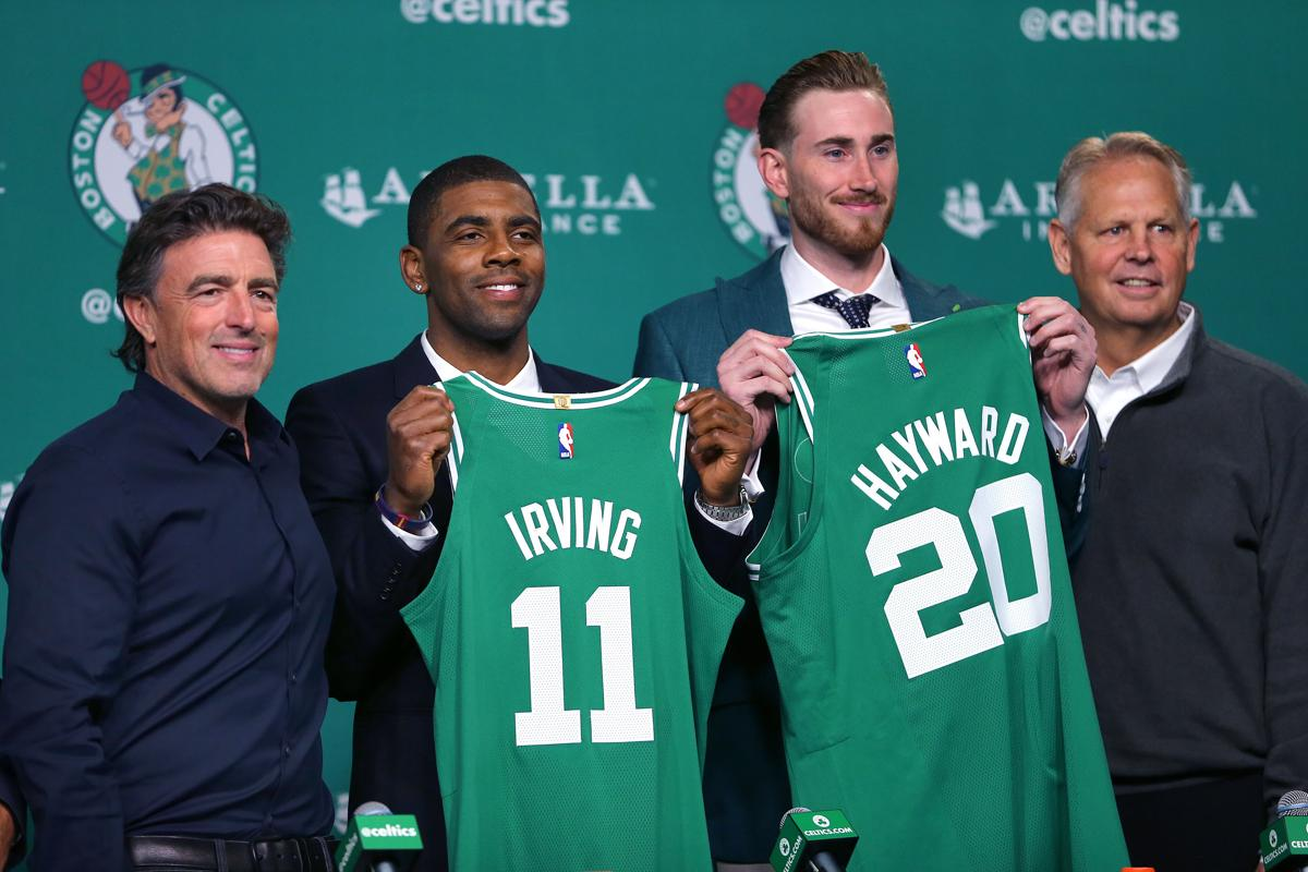 aca375a36 Boston-09 01 17- The Boston celtics held a press confrence at
