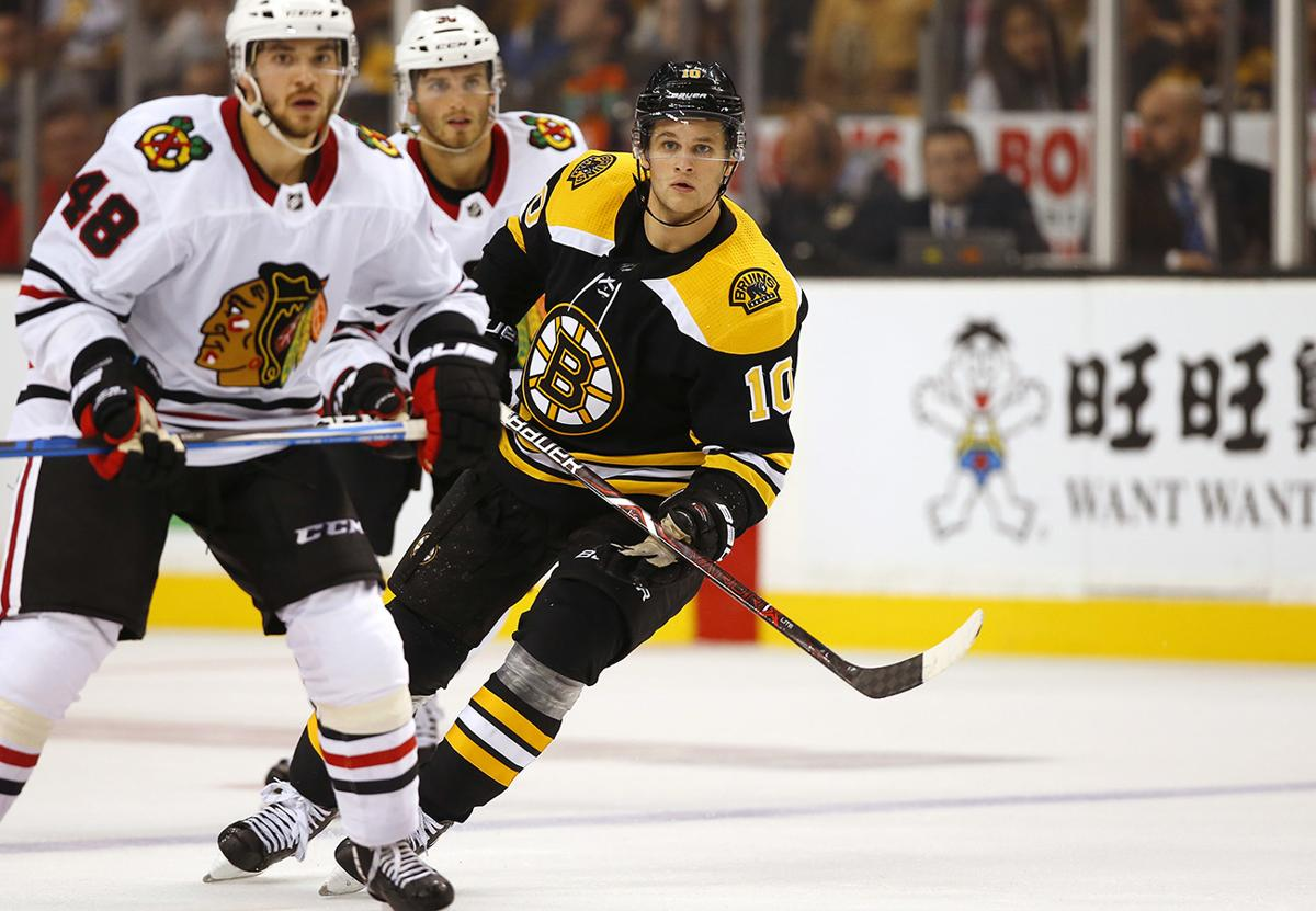 362acc2d8db Why the Bruins  eye test mattered for Anders Bjork
