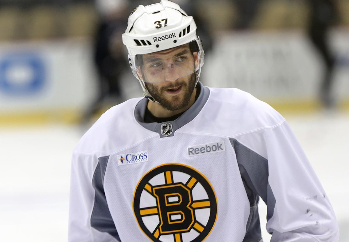 4665d303d03 Patrice Bergeron might get started against Coyotes