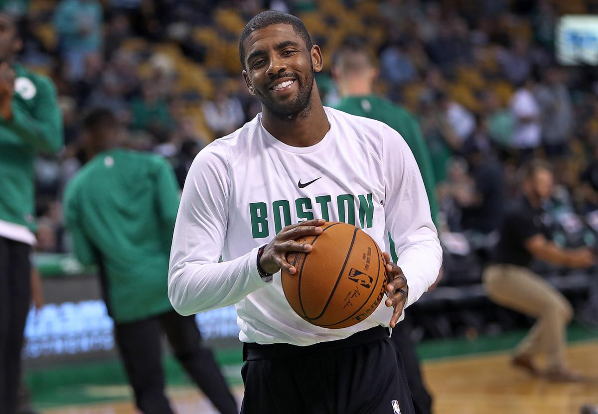 Image result for kyrie irving 2017 october