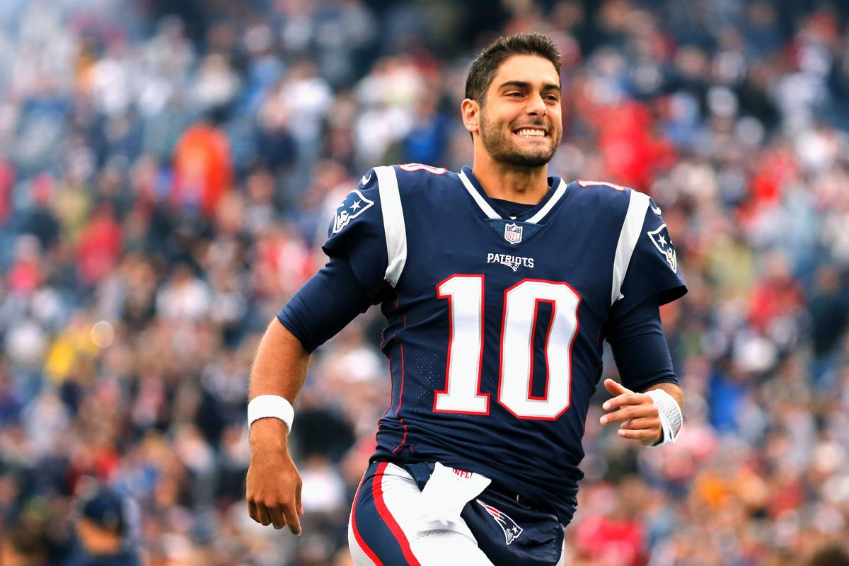 Patriots trade Jimmy Garoppolo to 49ers for 2018 second-round pick 1b08ba078