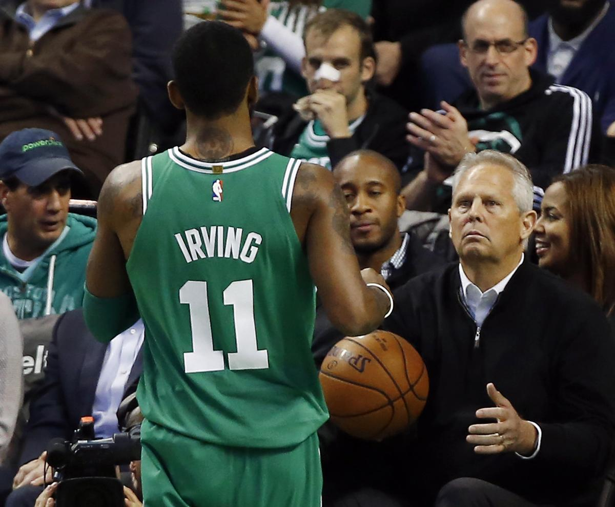 Your newest flat earther is Danny Ainge