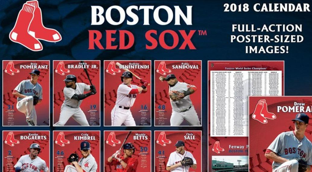 Here S Why Pablo Sandoval Is On A 2018 Red Sox Calendar