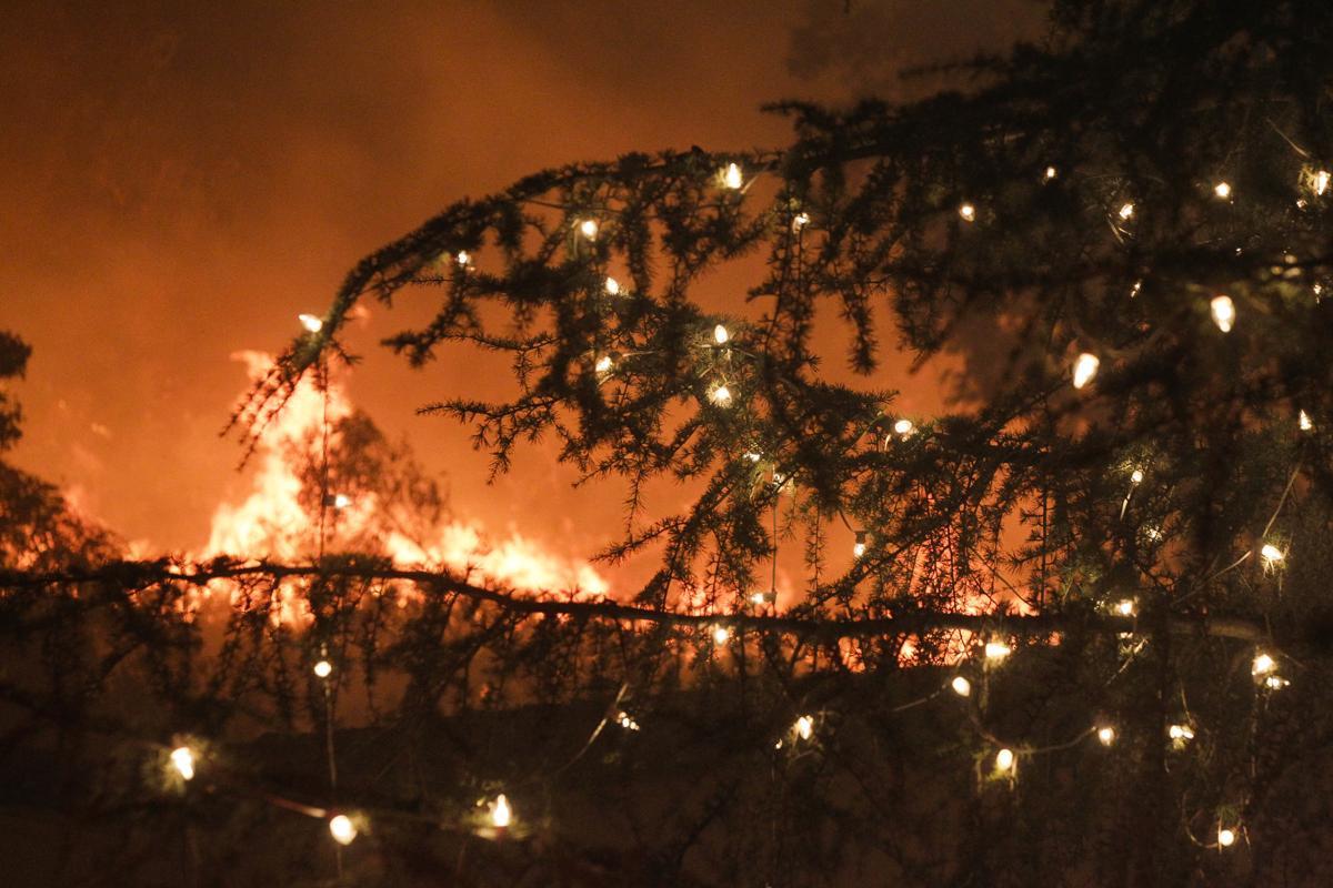 california fires roar again