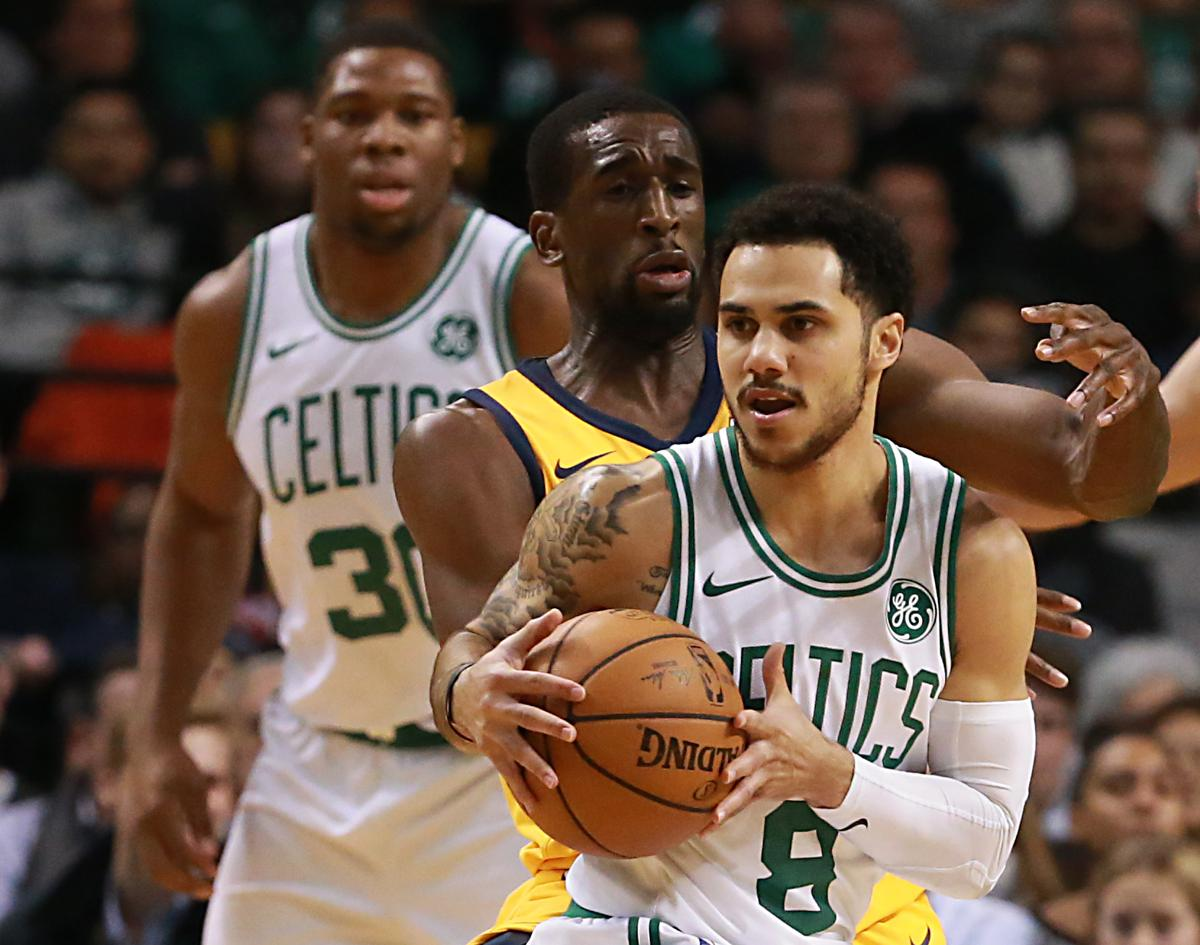 Celtics out of tune in loss to Jazz