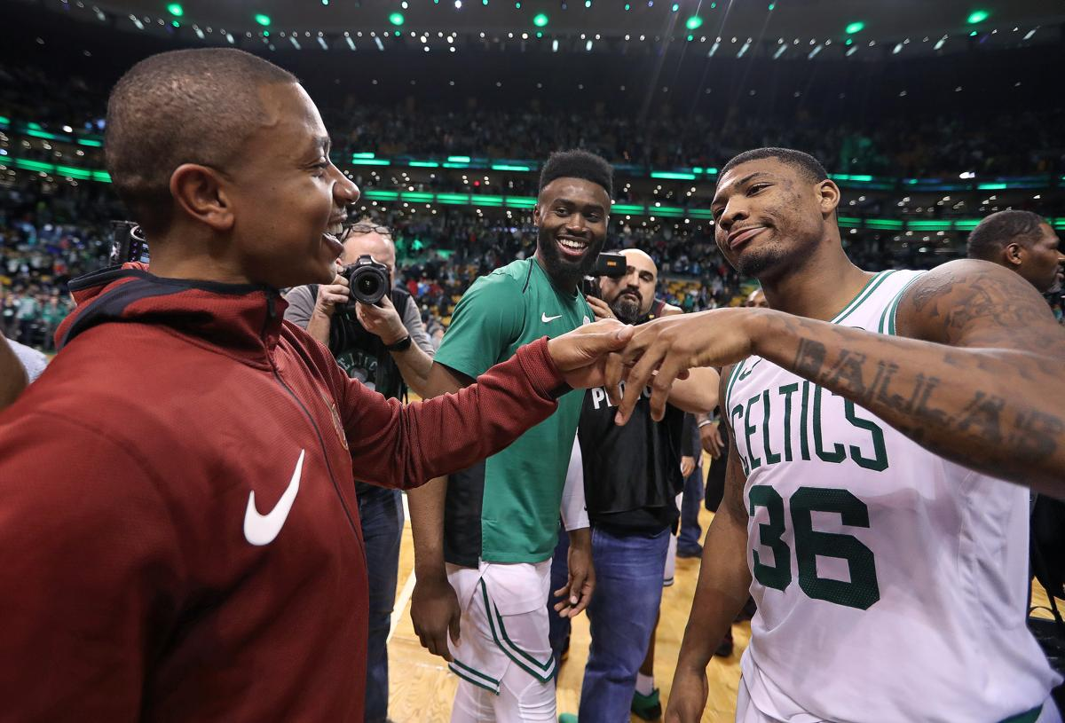 Isaiah Thomas discusses text message he received from Danny Ainge 6710ad6f5