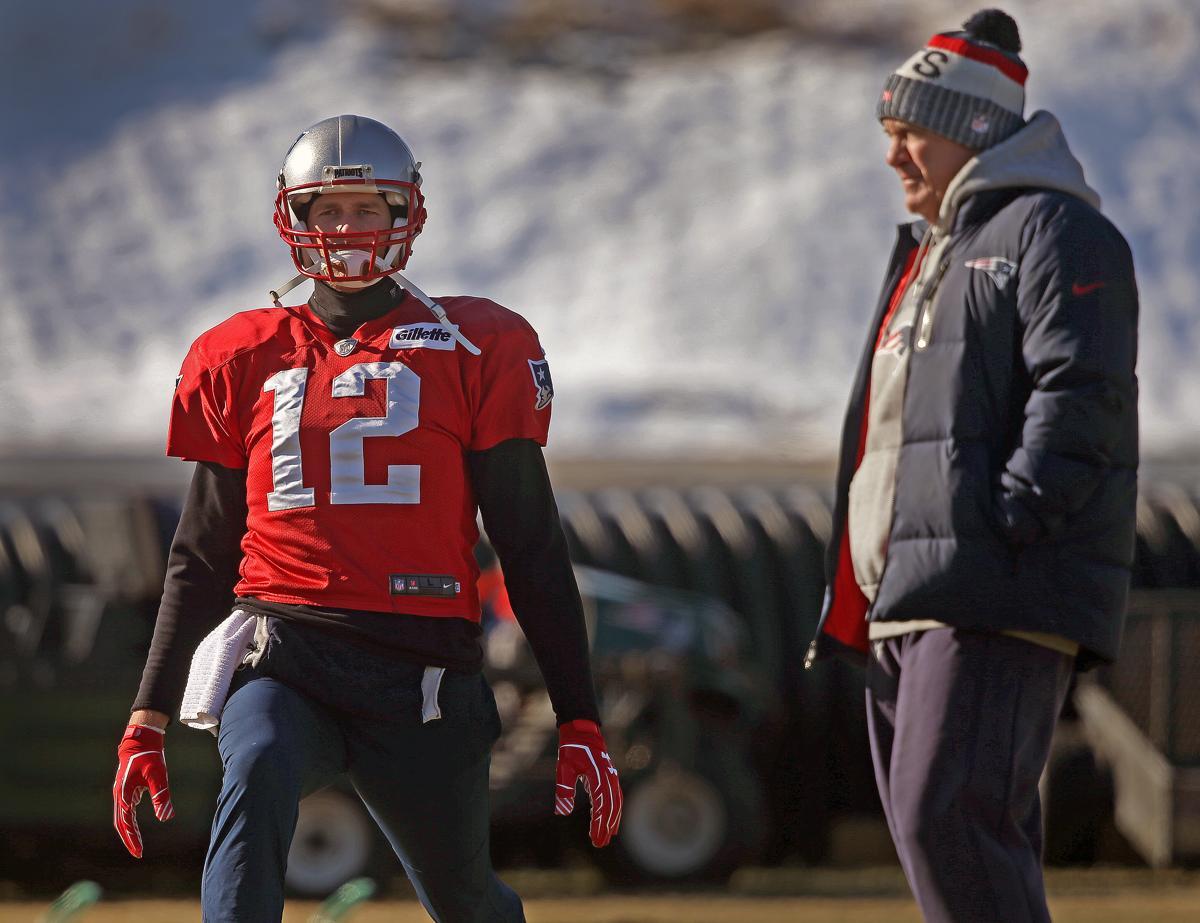 Foxborough Ma  New England Patriots Quarterback Tom Brady