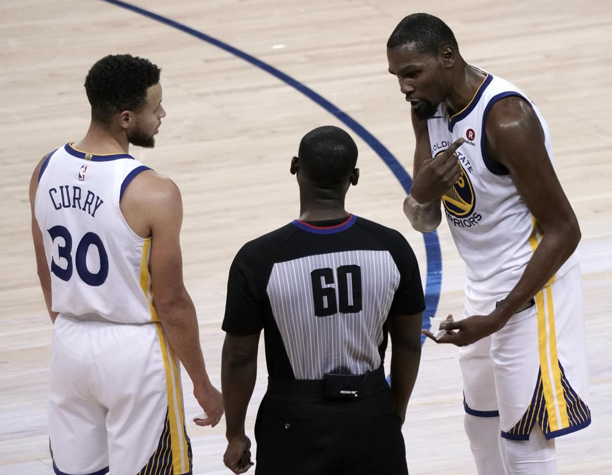 781a7707a658 Kevin Durant sorry for blastings referee