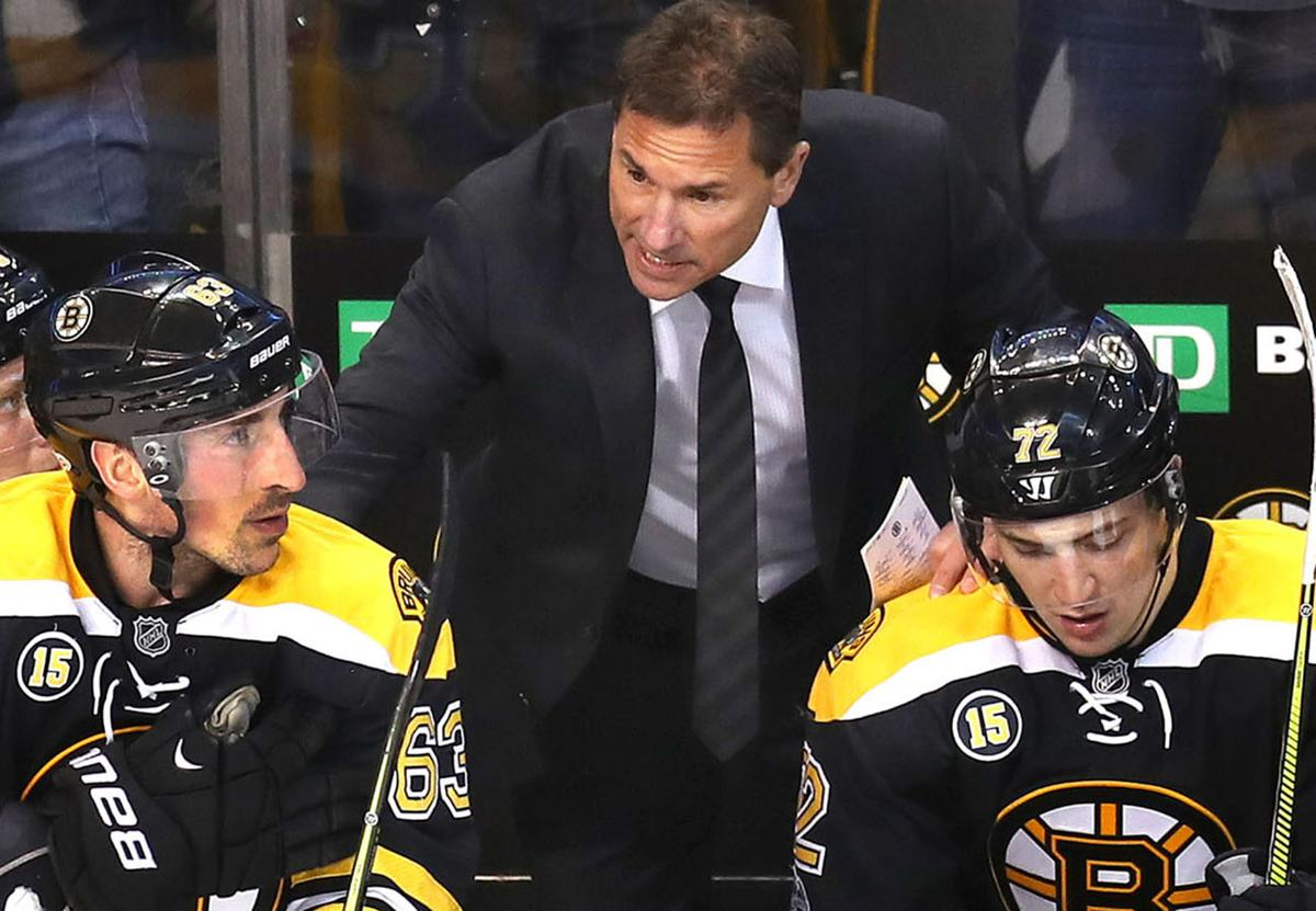 adcc4603fe4 Bruce Cassidy stands by Brad Marchand