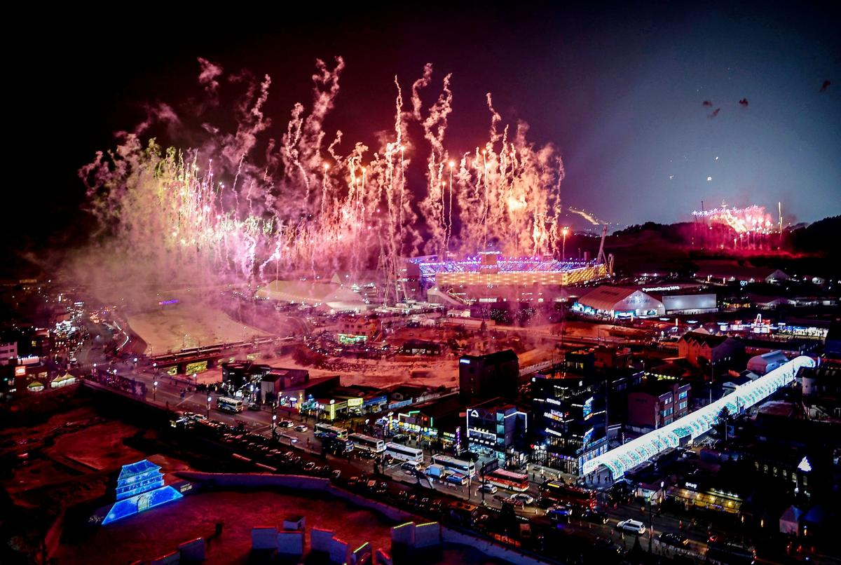 south korea winter olympic games opening ceremonies the. Black Bedroom Furniture Sets. Home Design Ideas