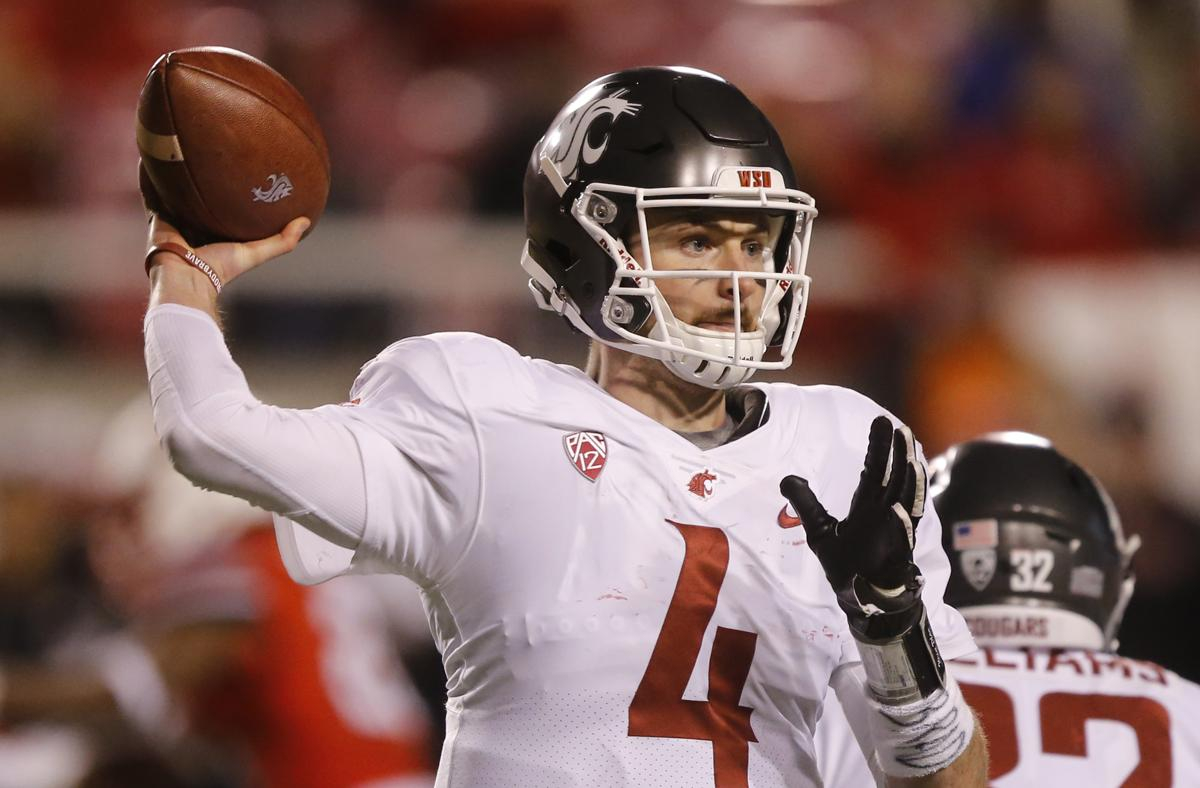 Washington State quarterback Luke Falk (4) fancies himself not only as a  Tom Brady 2ae45b6c3