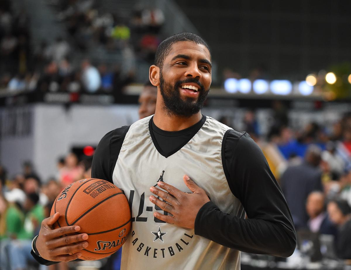kyrie irving is just being himself