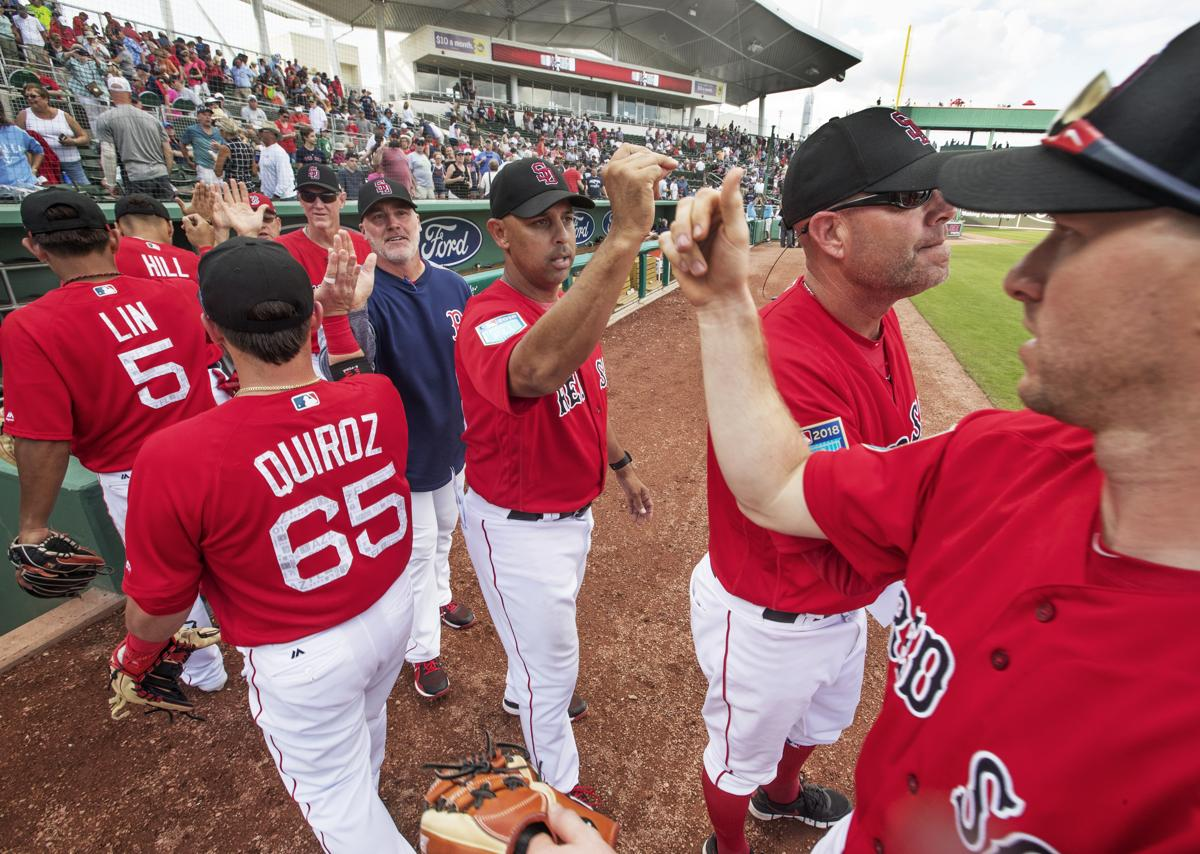 Boston Red Sox Spring Training Schedule 2019 Red Sox spring training schedule