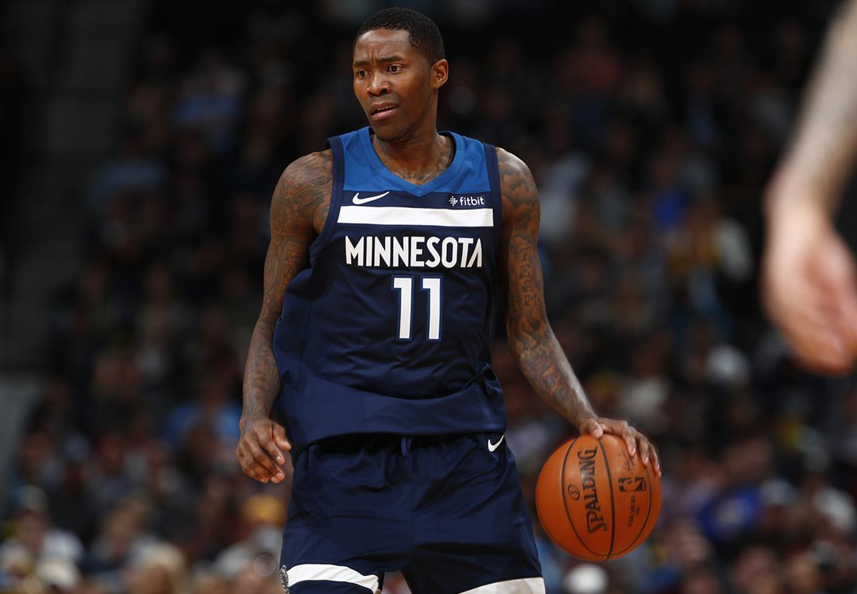 Minnesota Timberwolves guard Jamal Crawford (11) in the first half of an NBA  basketball a0834776c