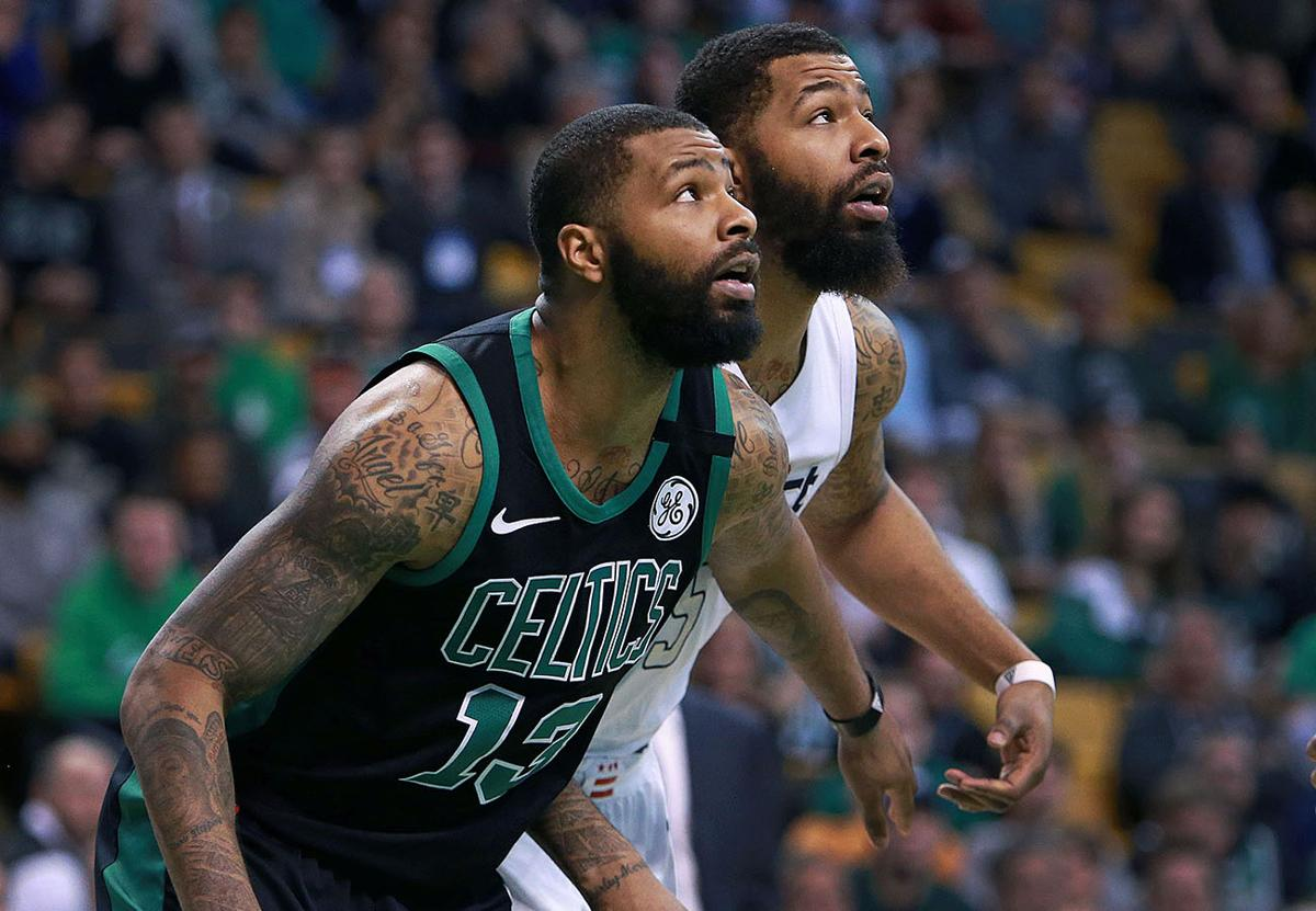 The Morris twins had fans seeing double in the double-overtime thriller. 710682983