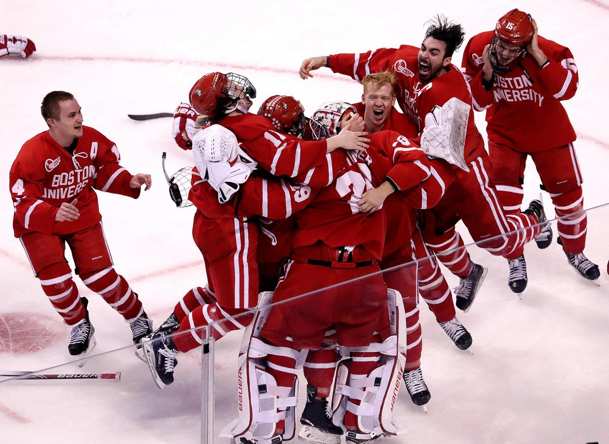 9bcb730ba The Boston University men s hockey team will play with UConn