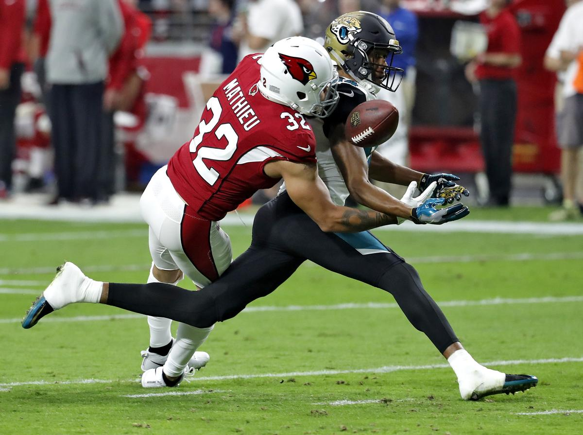 Safety Tyrann Mathieu signs with Texans 518527429