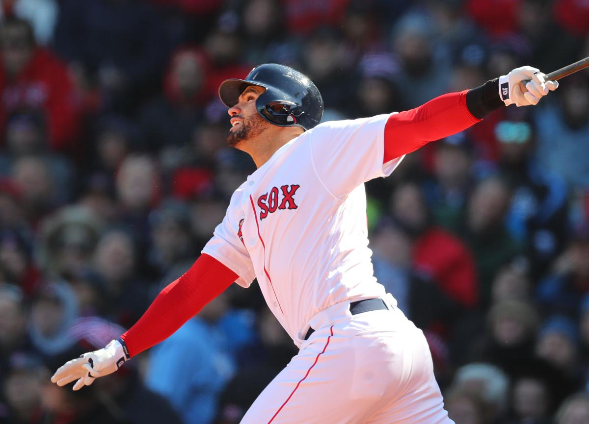 J.D. Martinez s Fenway debut with Red Sox  was special  a2792aa7c