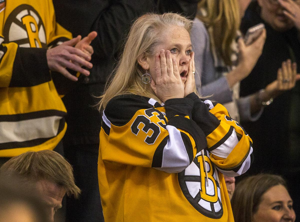 Bruins fans live and die with their team.