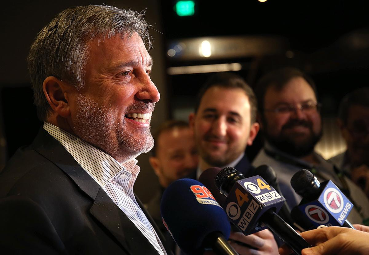 Cam Neely is enjoying the ride Bruins have taken him on this season