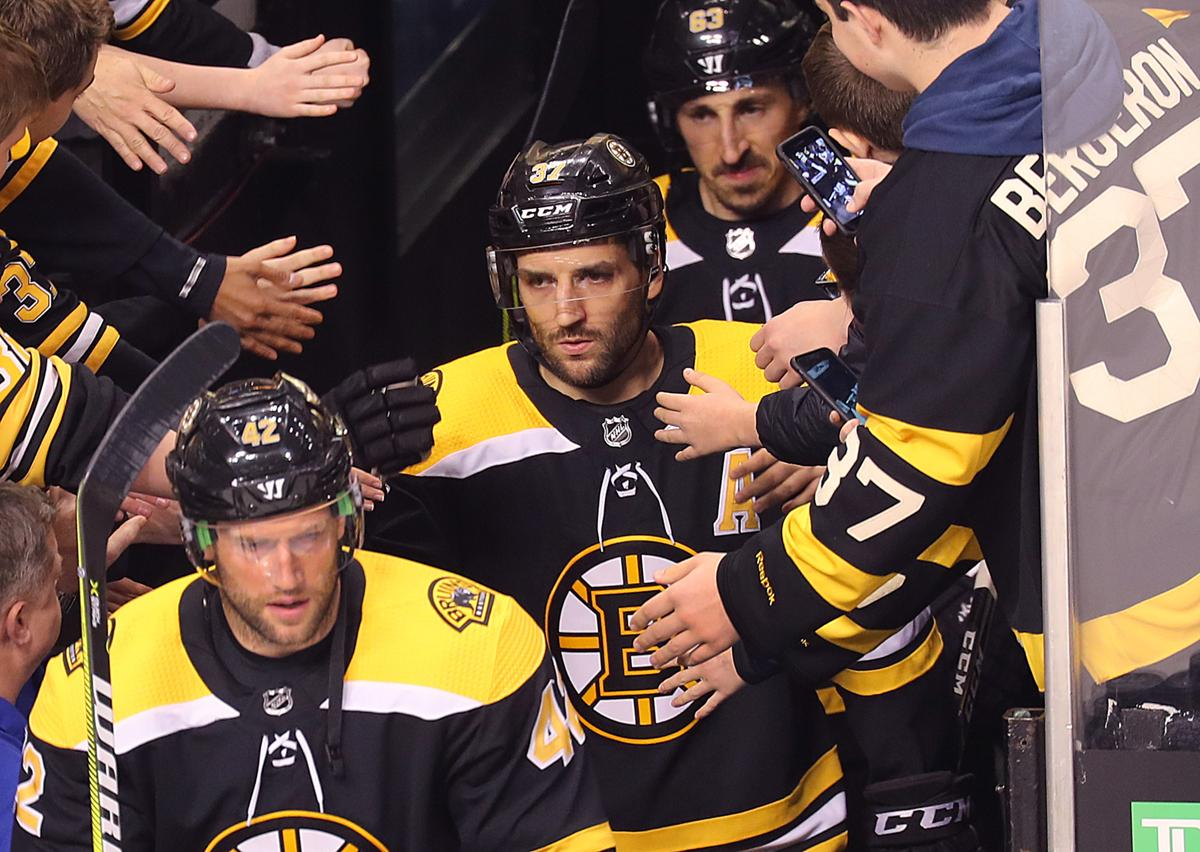 0387d28ec Bruins  Patrice Bergeron back in the lineup for Game 5 vs. Maple Leafs