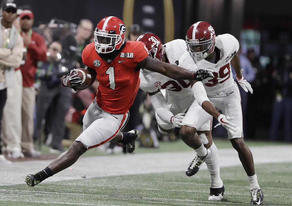 5e3cbb2a12d A little surprise  Patriots pick running back Sony Michel in NFL Draft