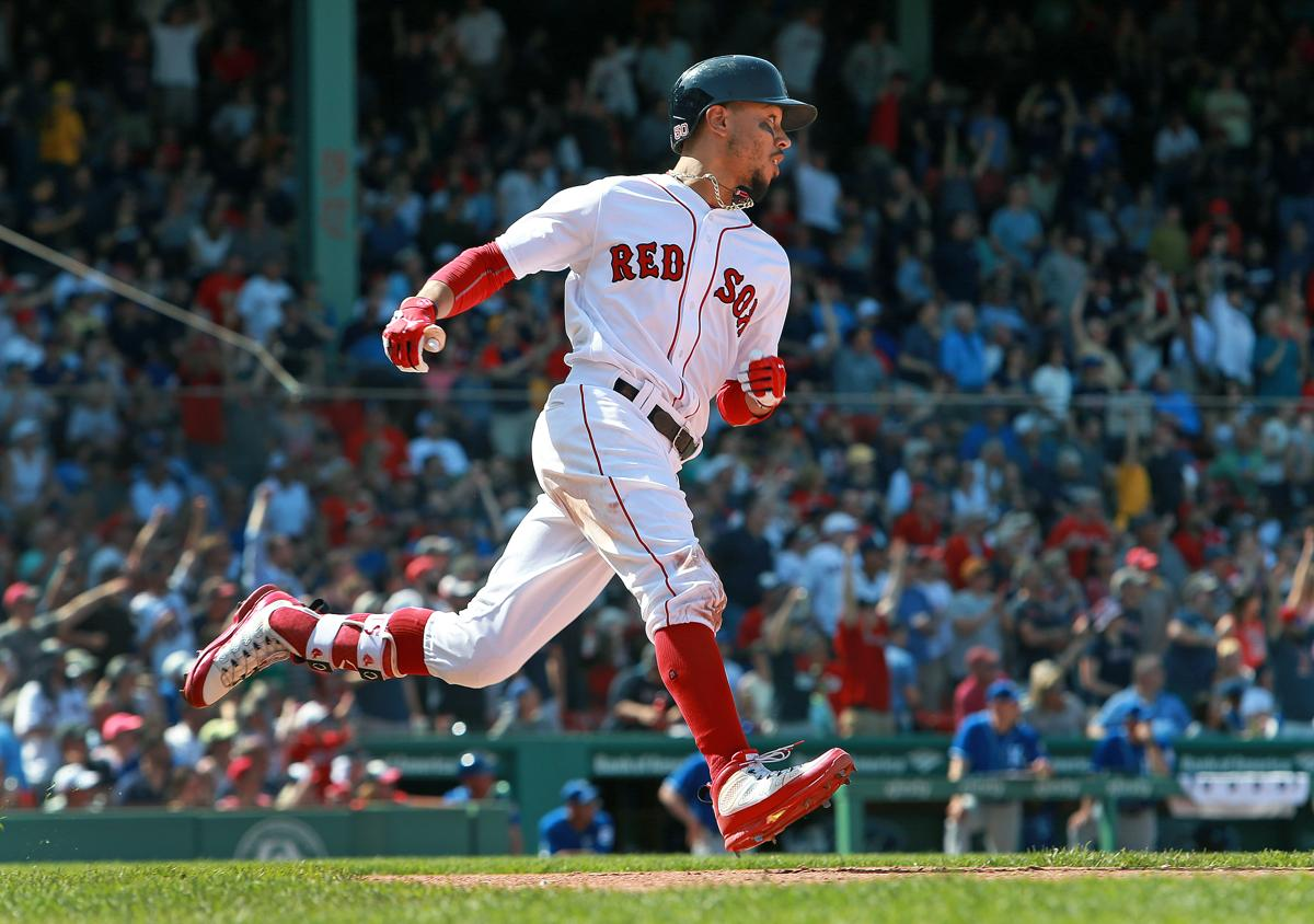 Mookie Betts s three homers power Red Sox past Royals a3bdfc1ef32