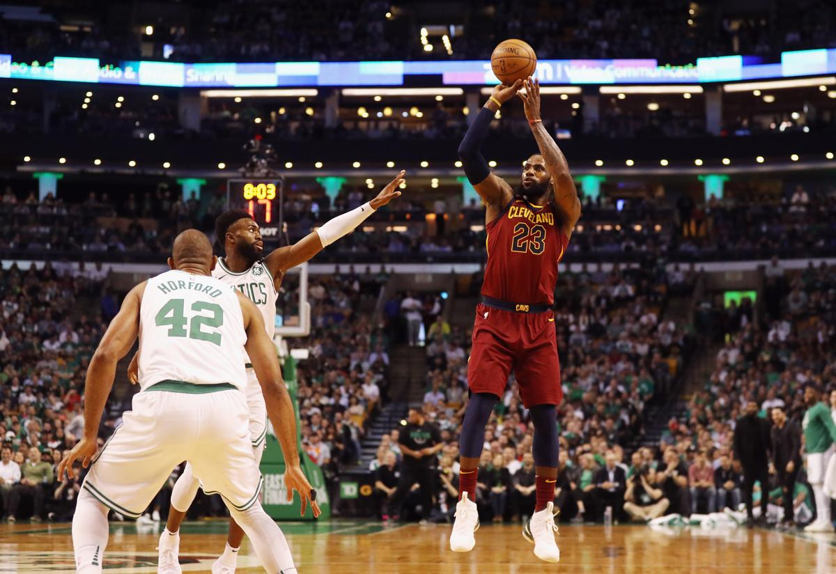 Gary Washburn  Celtics  defense took the drive out of LeBron James ... d47a92a63