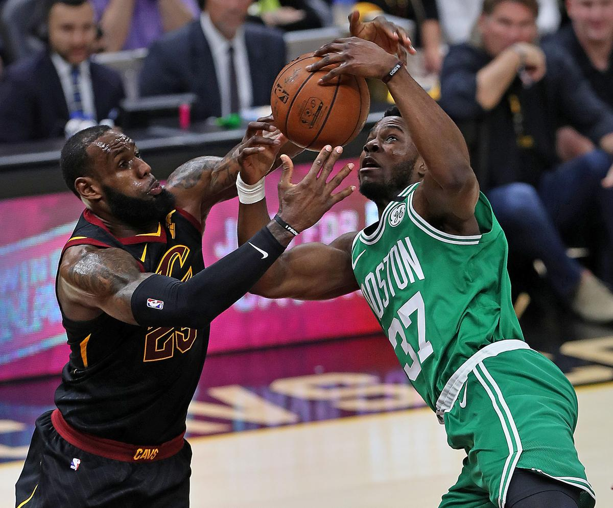 6314419b28f2 Dan Shaughnessy  LeBron James proves he s in no hurry to give up his ...