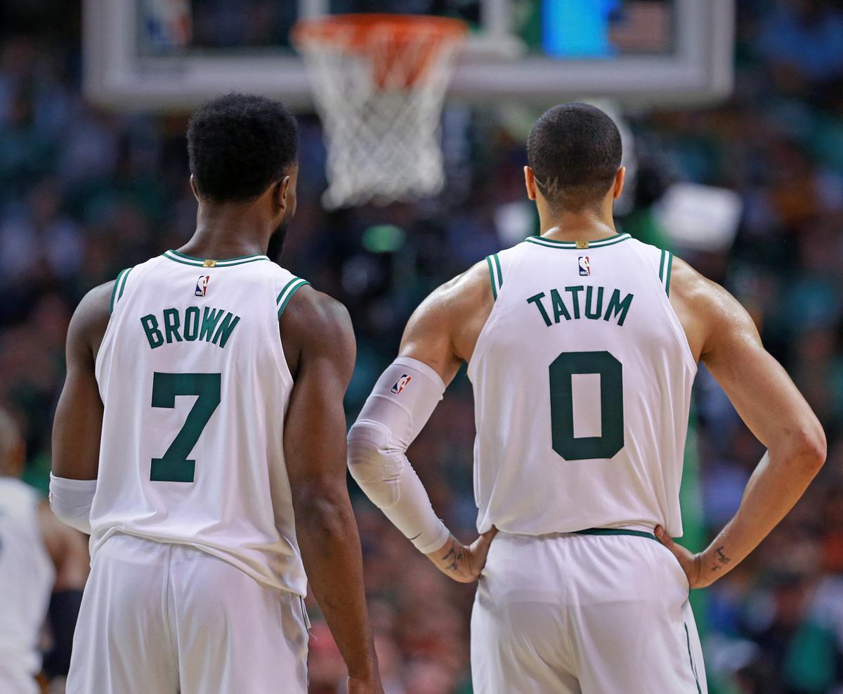 885fa3889 The great expectations of Jayson Tatum and Jaylen Brown