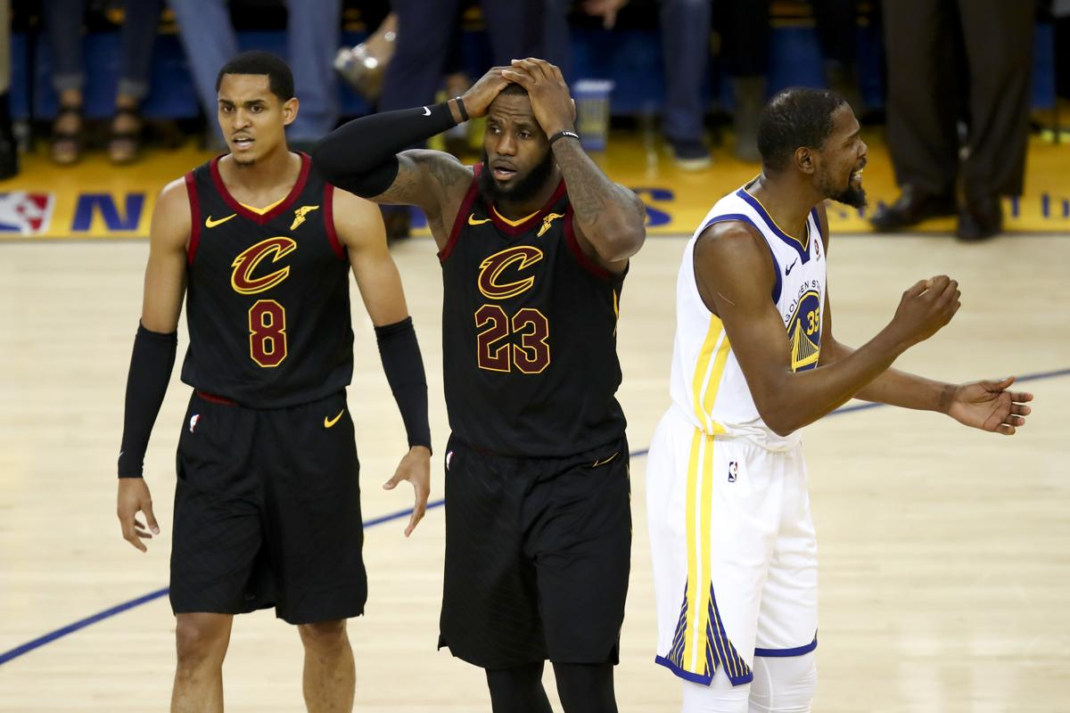 Blunder may have cost Cavaliers Game 1 of NBA Finals 5d46cf52c