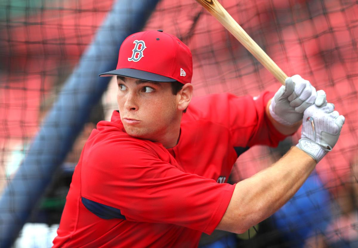 121b627e2 Red Sox first-round pick Triston Casas gets taste of Fenway