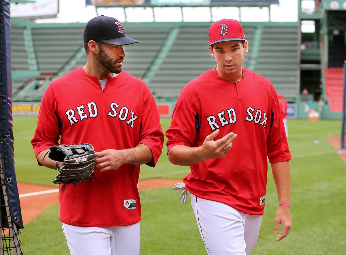 9ca760f74 Boston- 06 23 18- Boston Red Sox vs Seattle Mariners- Sox. First-round pick Triston  Casas ...