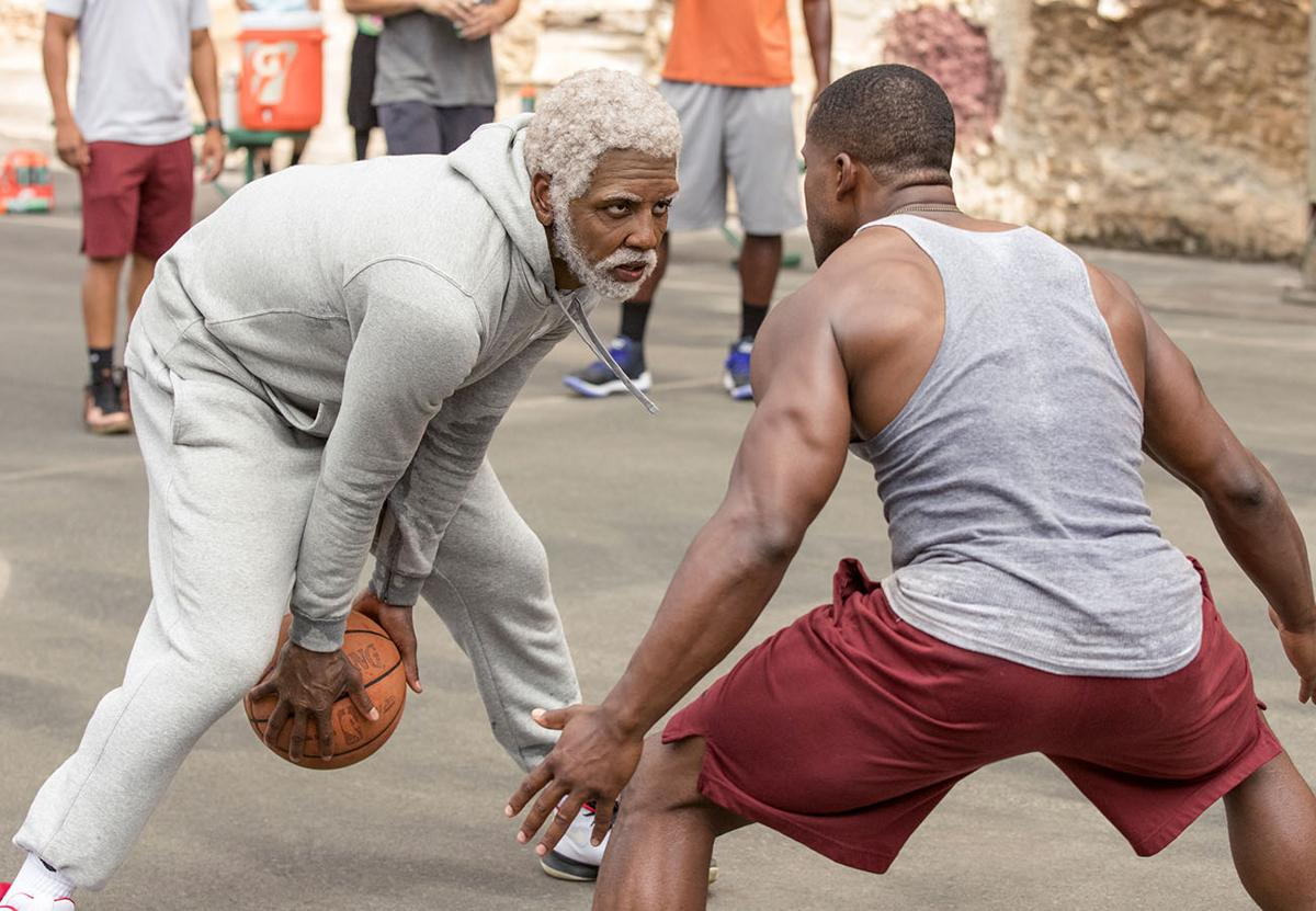 This Image Released By Summit Entertainment Shows Boston Celtics Basketball Player Kyrie Irving Left