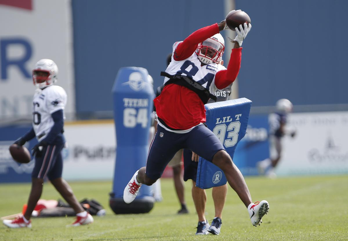 Cordarrelle Patterson has been a standout newcomer at Patriots training camp 358a845f8