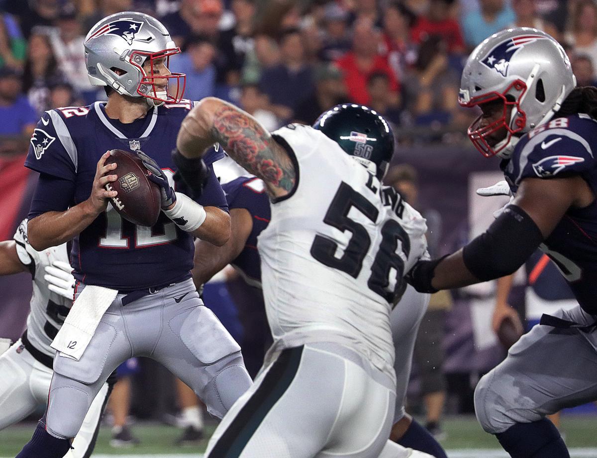 95a58f5ec Tom Brady looked like himself in Patriots  preseason win vs. Eagles