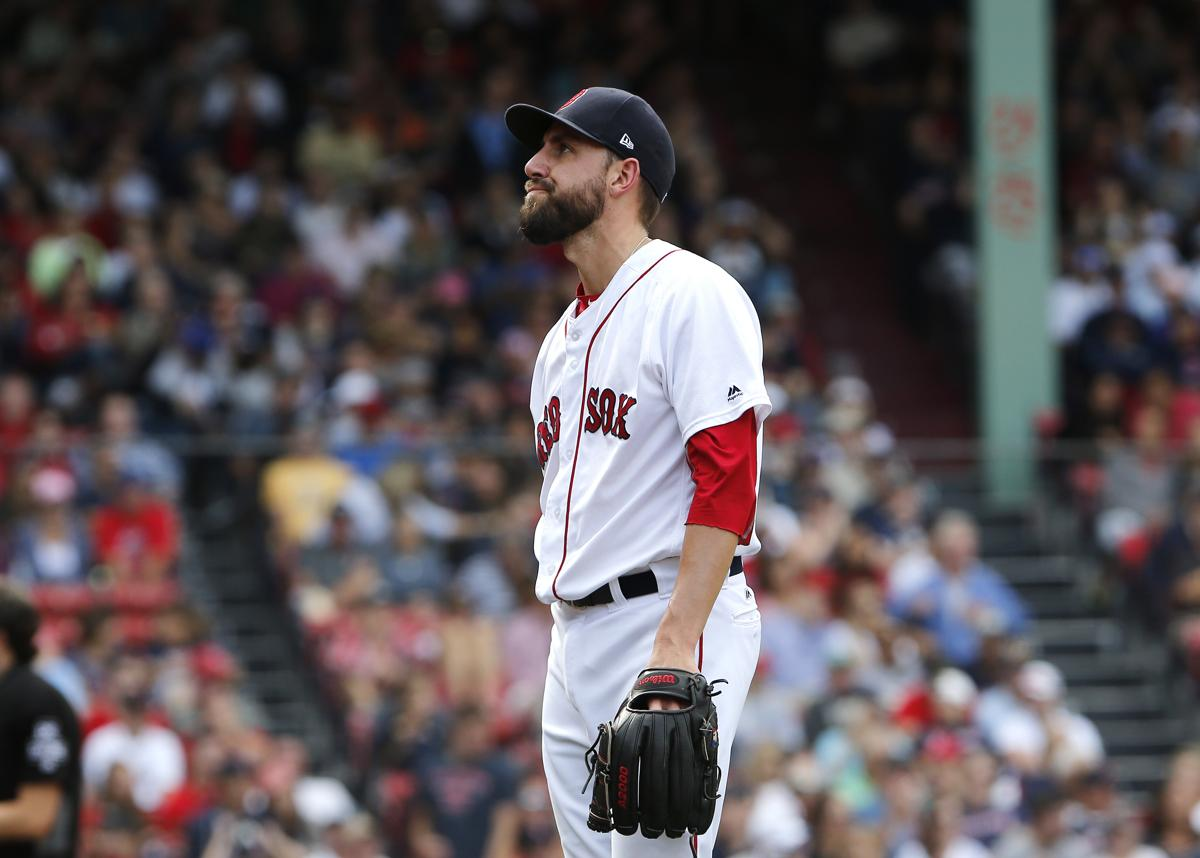 Red Sox reliever Matt Barnes out indefinitely with a sore hip 3dacf4d56ab