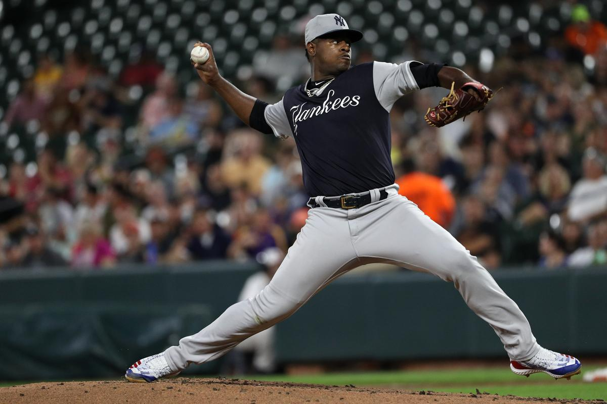 1d3c1d52ca19 Luis Severino allowed four hits and two earned runs in 5⅔ innings Sunday  night in Baltimore