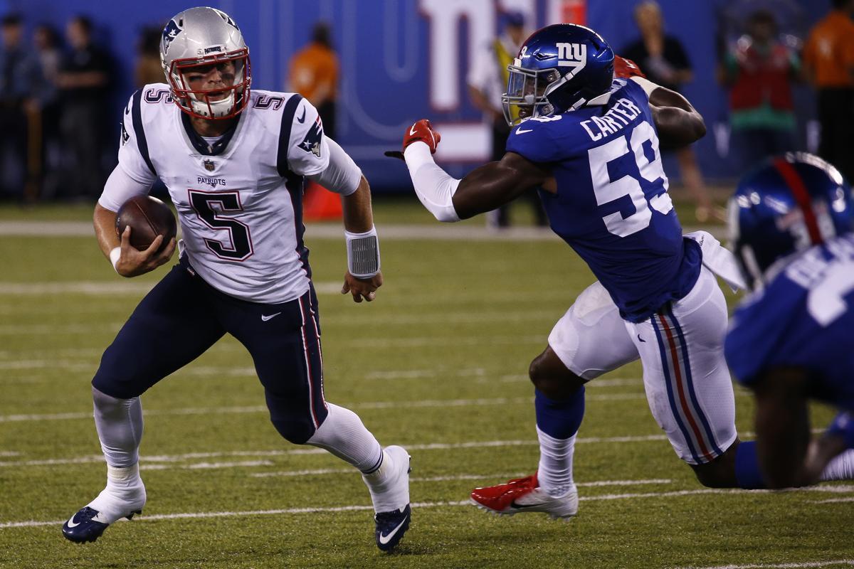 081e8cf3e Danny Etling s 86-yard TD run highlights Patriots  preseason finale win