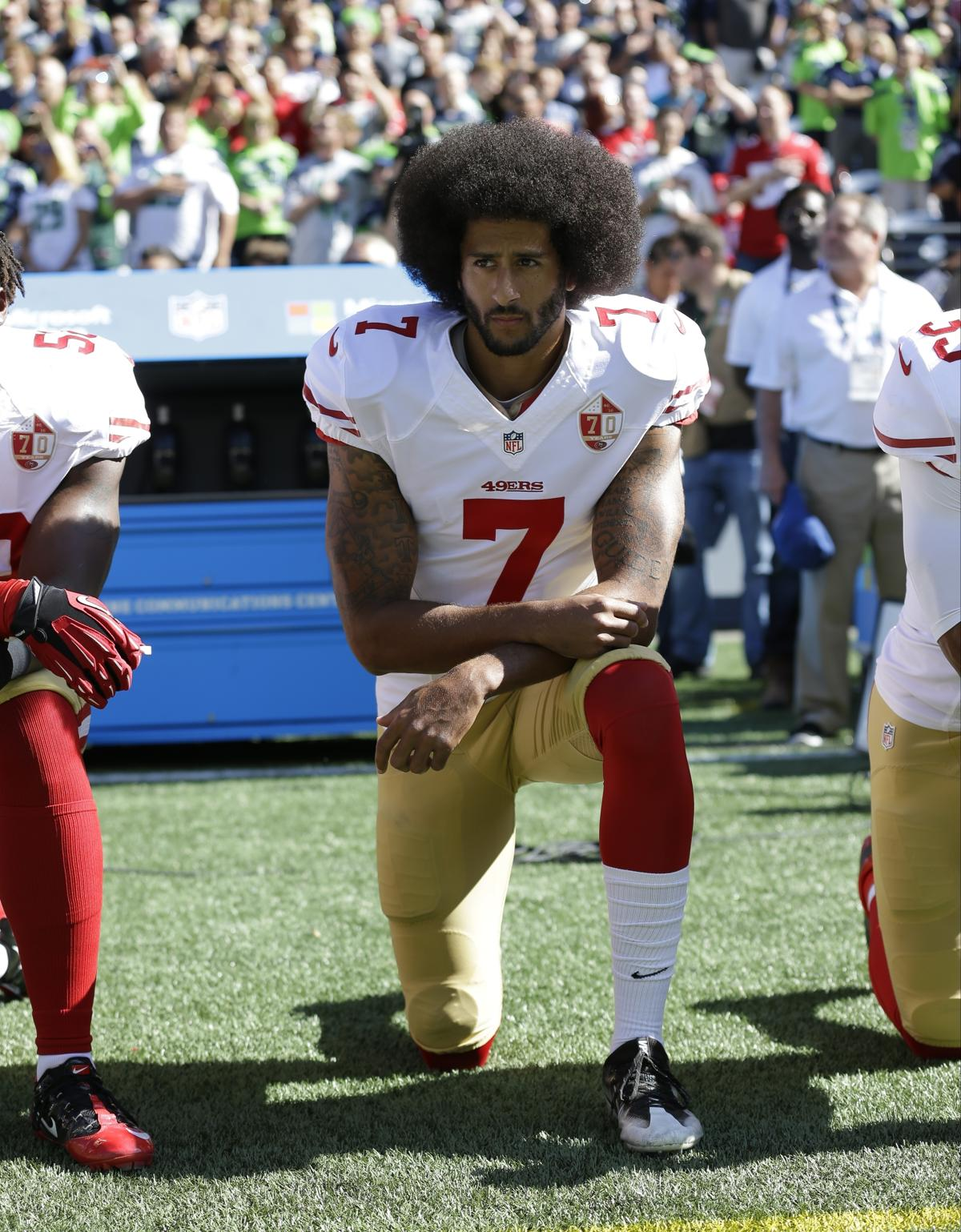 Colin Kaepernick has new deal with Nike though he s not in NFL 88f602b86