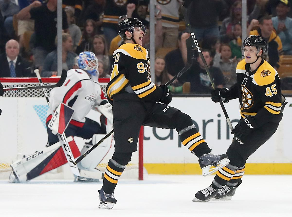 Danton Heinen s shootout goal gives Bruins a  local  preseason victory over  Capitals 92728cf98ed