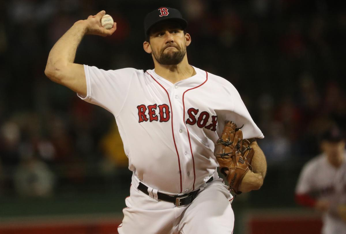 Boston MA 9 24 18 Boston Red Sox starting pitcher Nathan Eovaldi delivers a 86b89d766fc